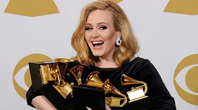Grammy 2012, Adele é a grande estrela da noite