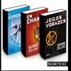 Promoção trilogia Jogos Vorazes